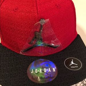 Jumpman youth hat